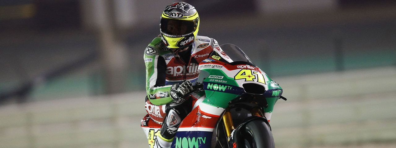FIRST PRACTICE SESSION IN QATAR FOR THE APRILIA RS-GP MACHINES