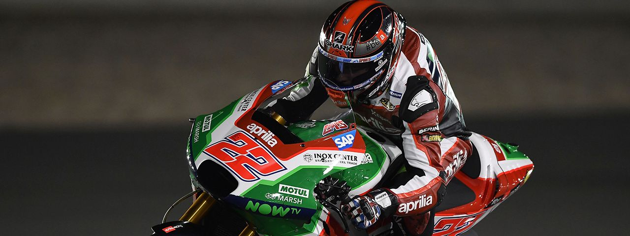 GOOD RACE PREPARATION FOR THE APRILIA RS-GP MACHINES AT DOHA