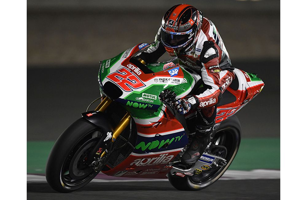GOOD RACE PREPARATION FOR THE APRILIA RS-GP MACHINES AT DOHA_0