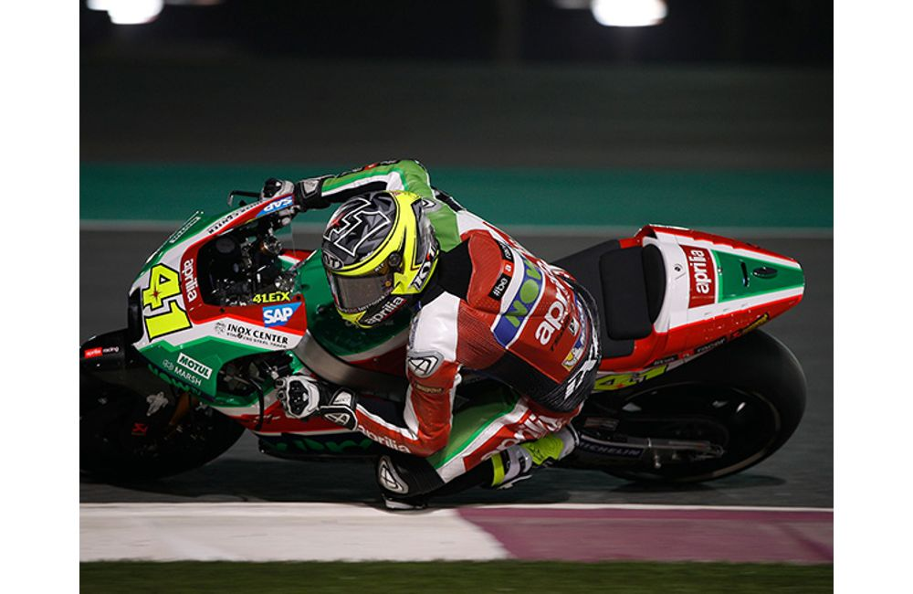 GOOD RACE PREPARATION FOR THE APRILIA RS-GP MACHINES AT DOHA_1