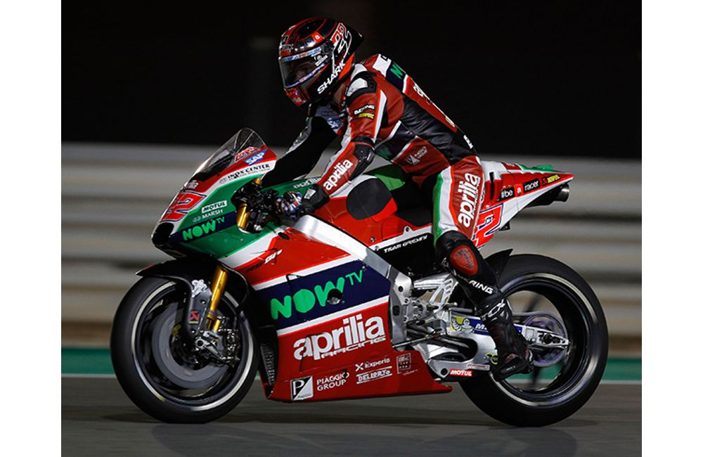 GOOD RACE PREPARATION FOR THE APRILIA RS-GP MACHINES AT DOHA_2