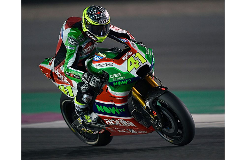 GOOD RACE PREPARATION FOR THE APRILIA RS-GP MACHINES AT DOHA_3