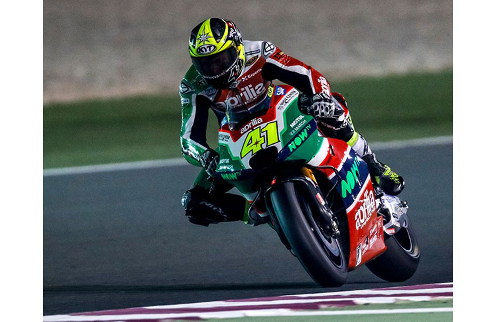 FIRST PRACTICE SESSION IN QATAR FOR THE APRILIA RS-GP MACHINES_2