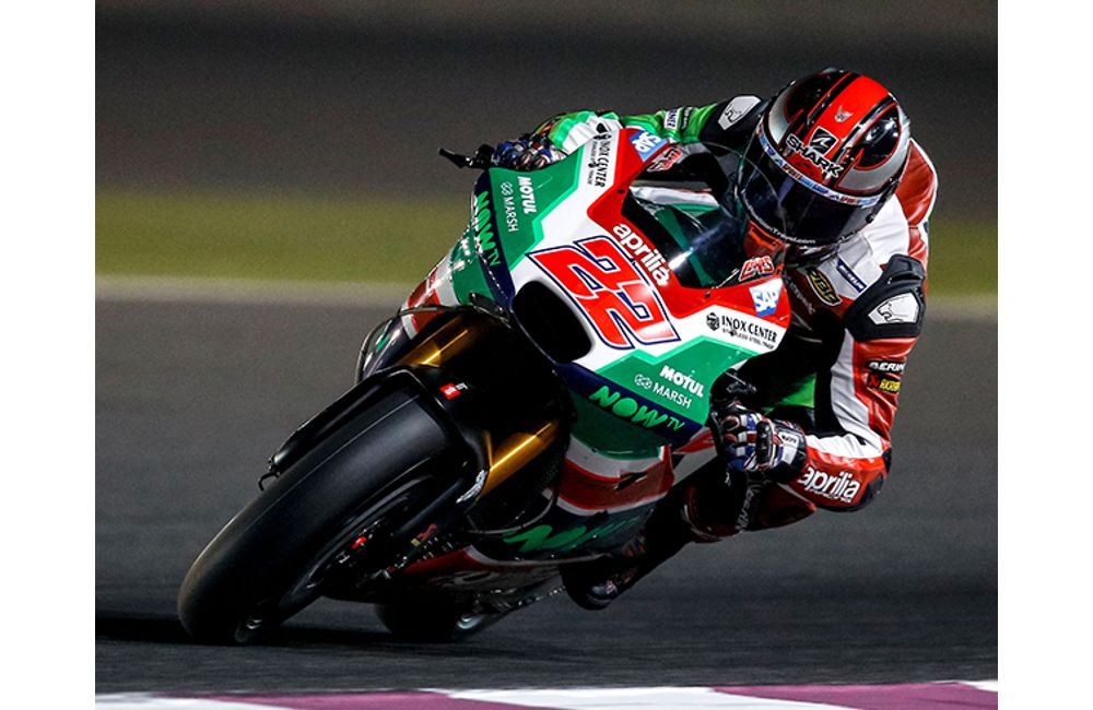 FIRST PRACTICE SESSION IN QATAR FOR THE APRILIA RS-GP MACHINES_3