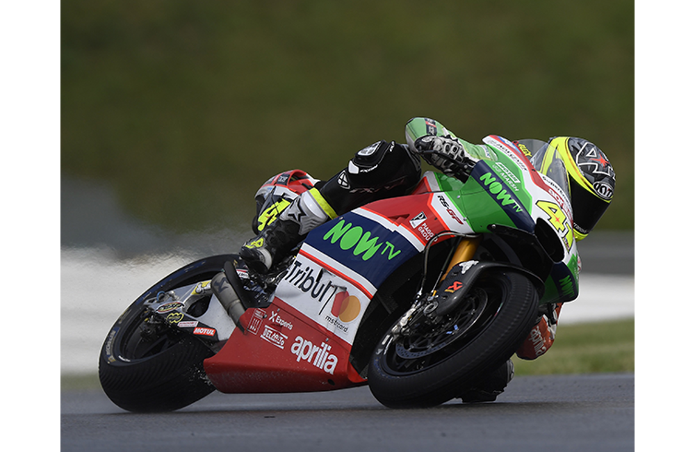 WITH EXCELLENT PERFORMANCE IN FREE PRACTICE ALEIX ESPARGARÓ GOES THROUGH TO Q2 AND RIDES HIS APRILIA TO THE THIRD ROW_0
