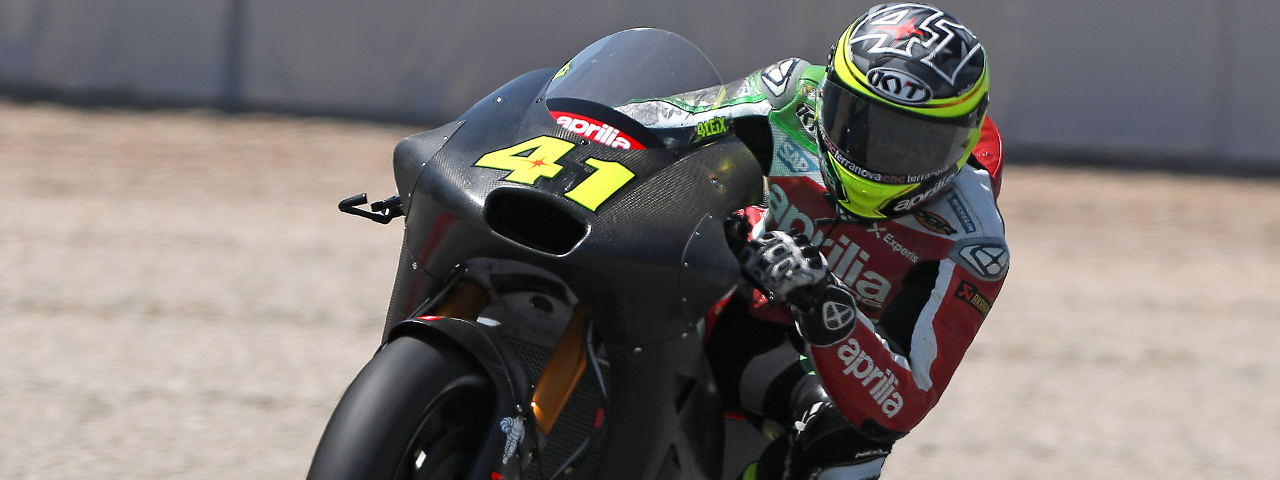 DEVELOPMENT ON THE APRILIA RS-GP MACHINES CONTINUES