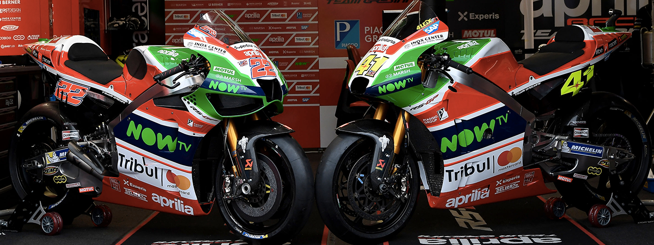 PIAGGIO GROUP AND APRILIA RACING AGREE LONG-TERM PARTNERSHIP WITH TRIBUL | MASTERCARD®