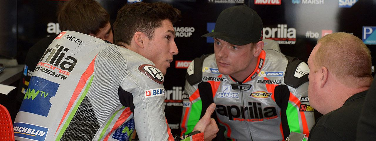 MOTOGP - POSITIVE TESTS FOR APRILIA AT PHILLIP ISLAND