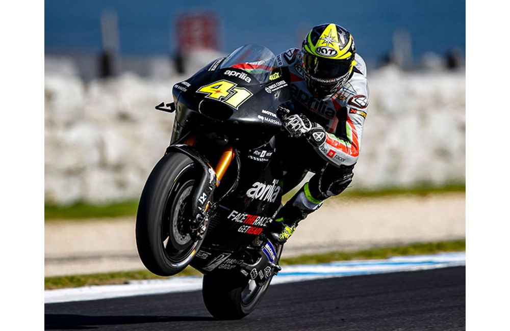 MOTOGP - POSITIVE TESTS FOR APRILIA AT PHILLIP ISLAND_0