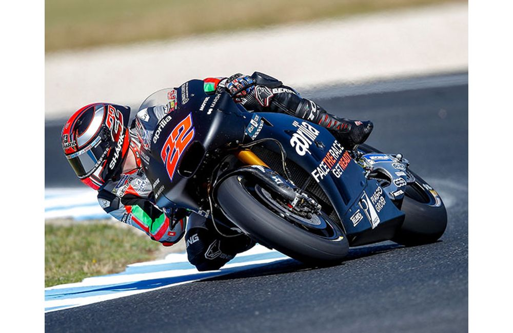 MOTOGP - POSITIVE TESTS FOR APRILIA AT PHILLIP ISLAND_2