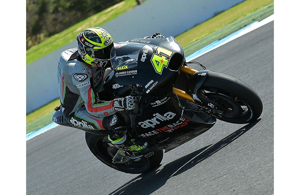 MOTOGP - APRILIA CONTINUES TO GROW IN AUSTRALIA_0