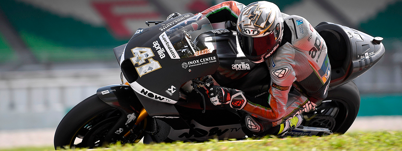 SATISFACTION FOR APRILIA IN THE SEPANG MOTOGP TESTS