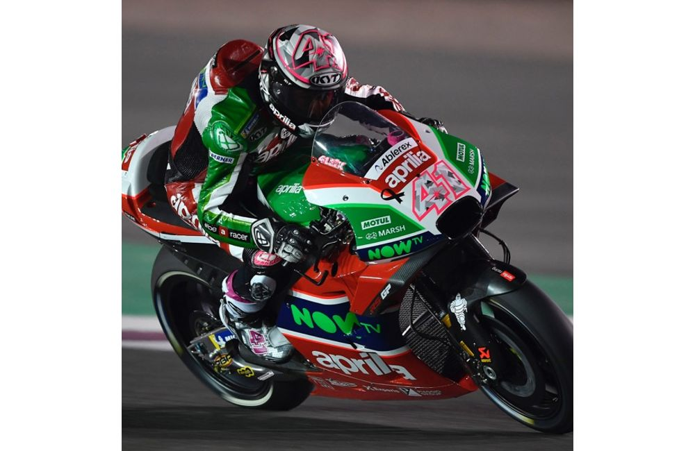 THE APRILIA RS-GP MACHINES DO WELL ON THEIR DÉBUT IN THE FIRST PRACTICE SESSIONS IN QATAR_0