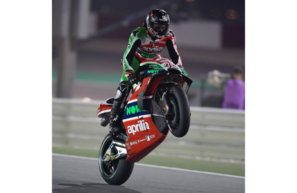THE APRILIA RS-GP MACHINES DO WELL ON THEIR DÉBUT IN THE FIRST PRACTICE SESSIONS IN QATAR_1