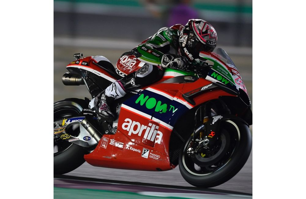 THE APRILIA RS-GP MACHINES DO WELL ON THEIR DÉBUT IN THE FIRST PRACTICE SESSIONS IN QATAR_2