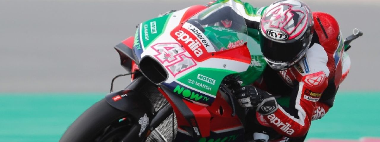 ABLEREX IN MOTOGP FOR THE FIRST TIME WITH APRILIA TEAM GRESINI