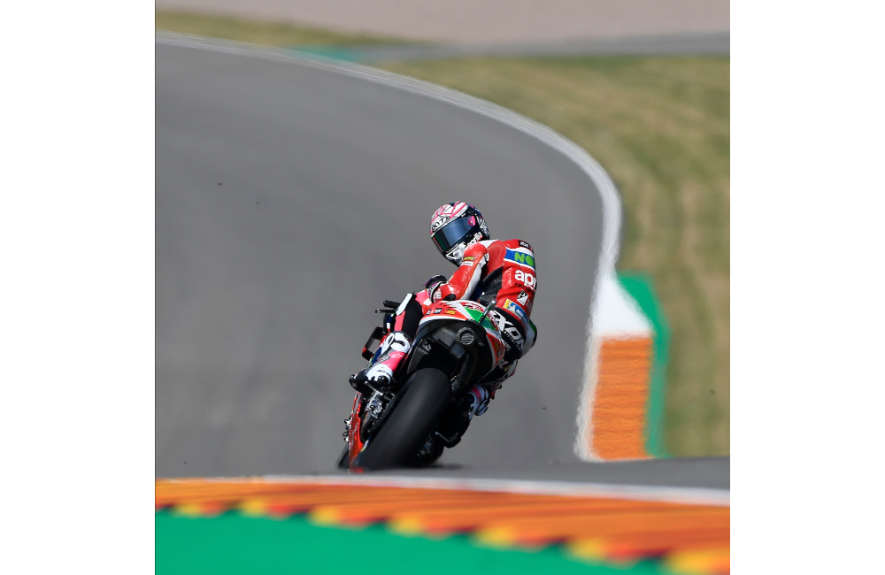 FIRST DAY OF MOTOGP PRACTICE AT THE SACHSENRING_1