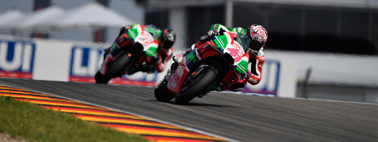 ESPARGARÓ AND REDDING TO START FROM THE SEVENTH ROW IN THE GP OF GERMANY