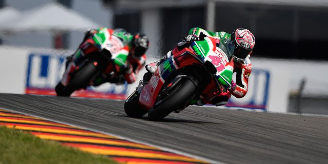ESPARGARÓ AND REDDING TO START FROM THE SEVENTH ROW IN THE GP OF GERMANY_thumb