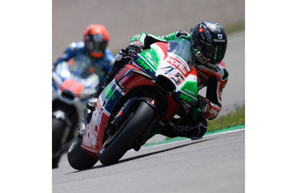 SCOTT REDDING IN THE POINTS AT THE GP OF GERMANY_0