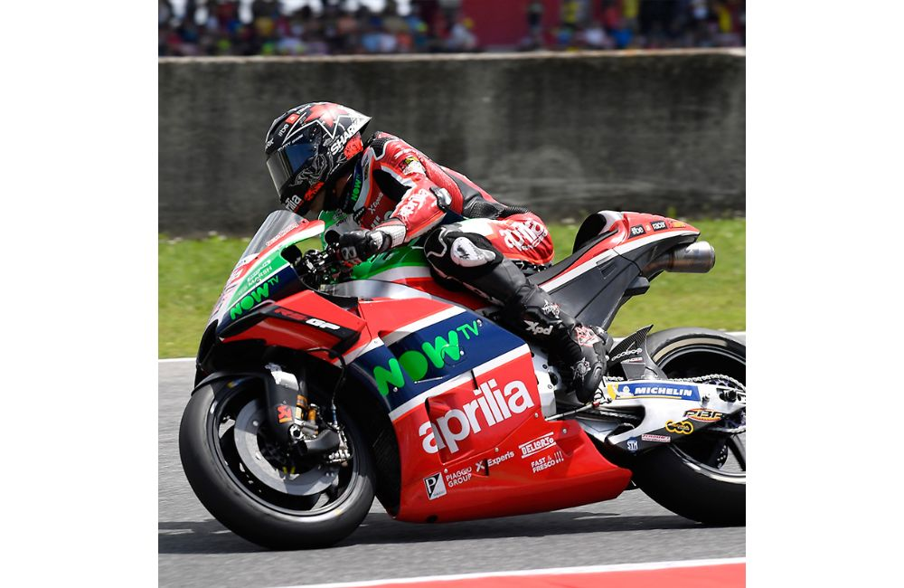 SEVENTH AND EIGHTH ROW AT MUGELLO FOR ESPARGARÓ'S AND REDDING'S APRILIAS_1