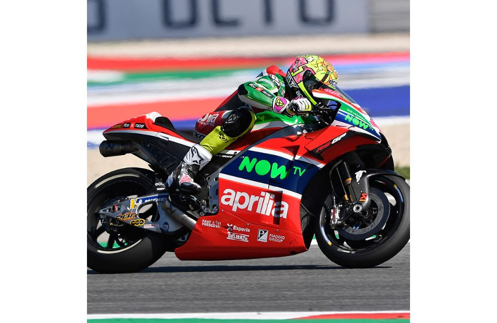 ALEIX ESPARGARÓ, FOURTEENTH, RIDES HIS APRILIA TO A POINTS FINISH_0