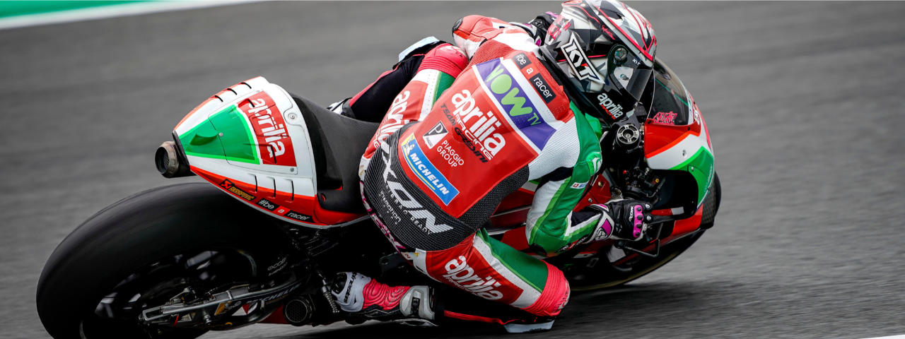 GOOD START FOR APRILIA AT THE MOTEGI MOTOGP WEEKEND