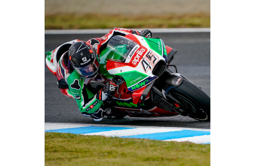 GOOD START FOR APRILIA AT THE MOTEGI MOTOGP WEEKEND_0