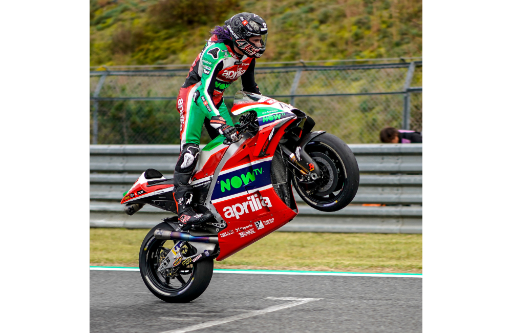 GOOD START FOR APRILIA AT THE MOTEGI MOTOGP WEEKEND_2