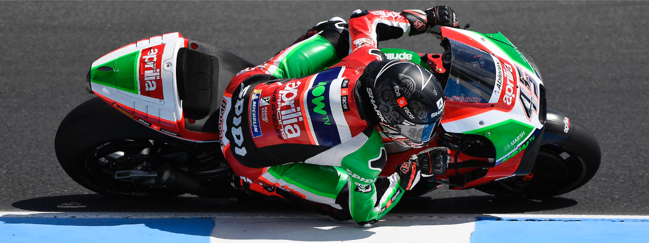 ESPARGARÓ SIXTEENTH ON THE FIRST DAY OF PRACTICE AT PHILLIP ISLAND
