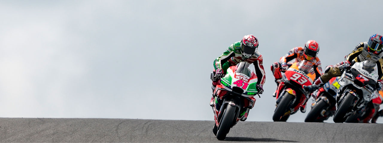 SEVENTH AND EIGHTH ROW FOR APRILIA AT PHILLIP ISLAND