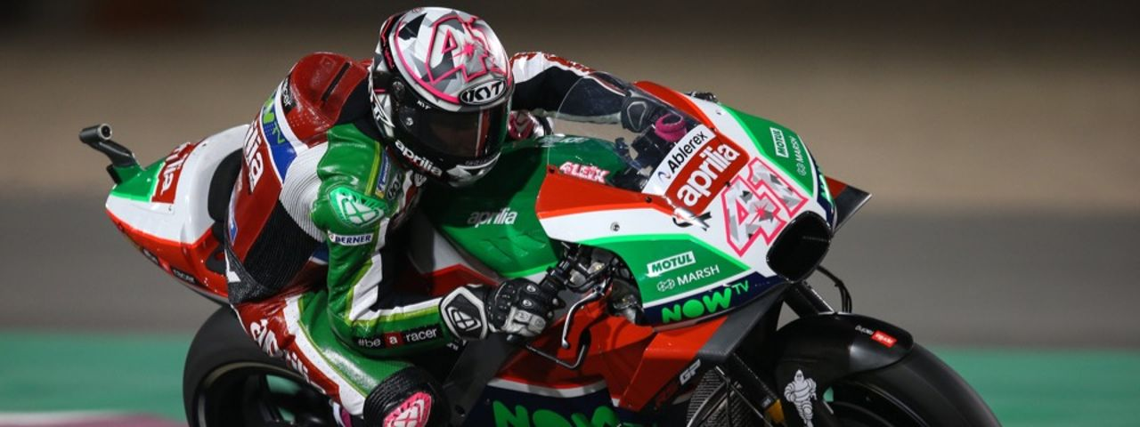 FIFTH ROW FOR ESPARGARÓ WHO FINISHES Q1 IN THIRD PLACE