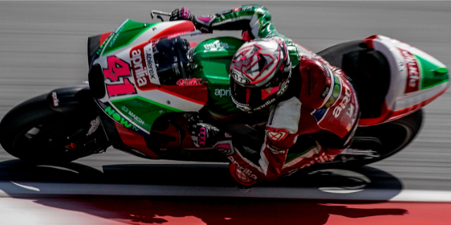 AFTER THE POSITIVE TEST IN MISANO, APRILIA PREPARES TO TAKE ON THE SILVERSTONE RACE_thumb