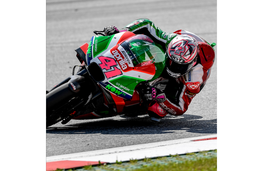 AFTER THE POSITIVE TEST IN MISANO, APRILIA PREPARES TO TAKE ON THE SILVERSTONE RACE_0