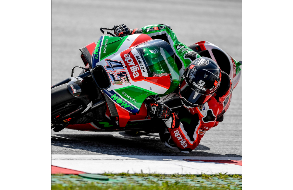 AFTER THE POSITIVE TEST IN MISANO, APRILIA PREPARES TO TAKE ON THE SILVERSTONE RACE_1