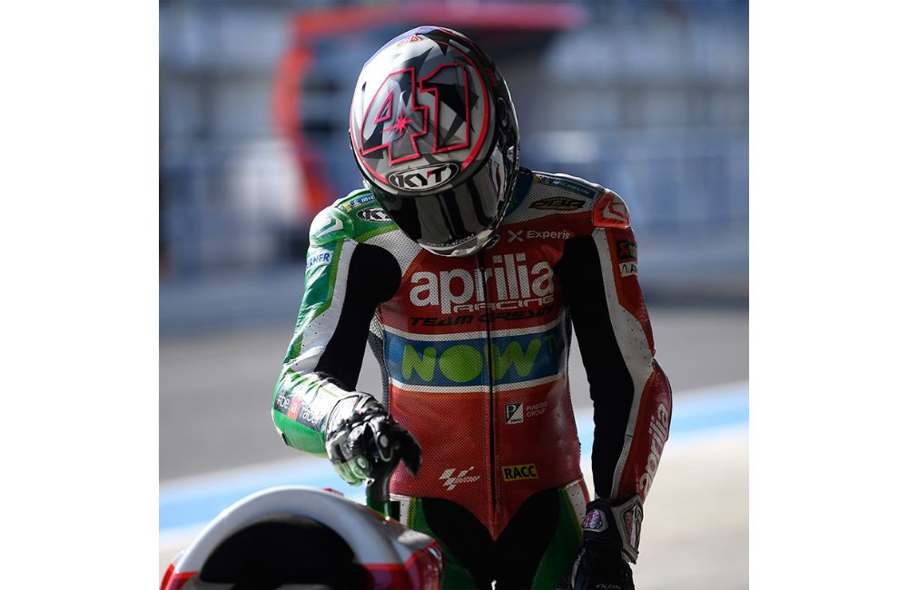 ALEIX ESPARGARÓ OUT ON THE FIRST LAP OF THE GP OF SPAIN IN JEREZ_1