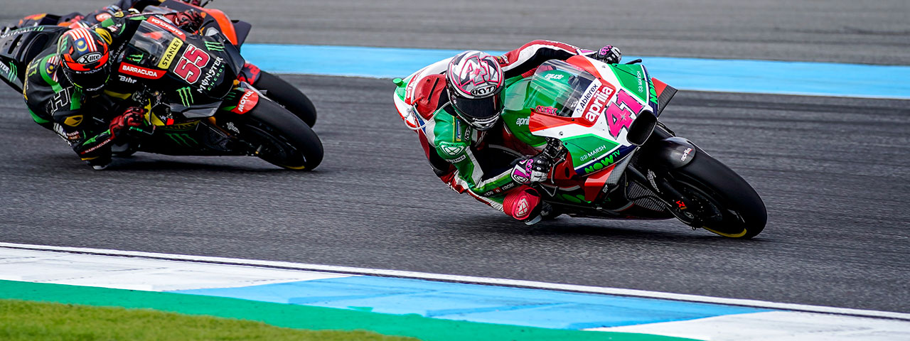 ALEIX ESPARGARÓ IN THE POINTS IN THE GP OF THAILAND