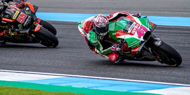 ALEIX ESPARGARÓ IN THE POINTS IN THE GP OF THAILAND_thumb