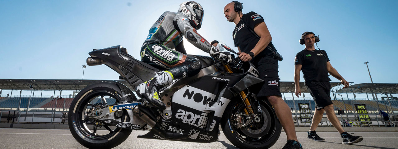 TESTS CONCLUDED IN QATAR, APRILIA READY FOR THE RACE