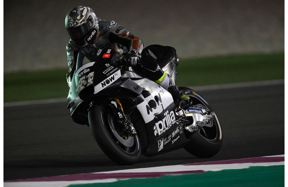 PROGRESS CONTINUES FOR THE APRILIA MACHINES AT LOSAIL_0