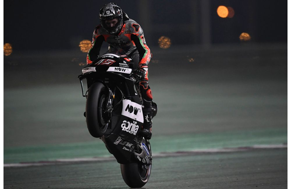 PROGRESS CONTINUES FOR THE APRILIA MACHINES AT LOSAIL_1