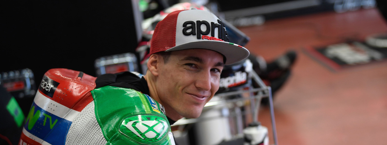 ALEIX ESPARGARÓ WITH APRILIA IN THE NEXT TWO SEASONS