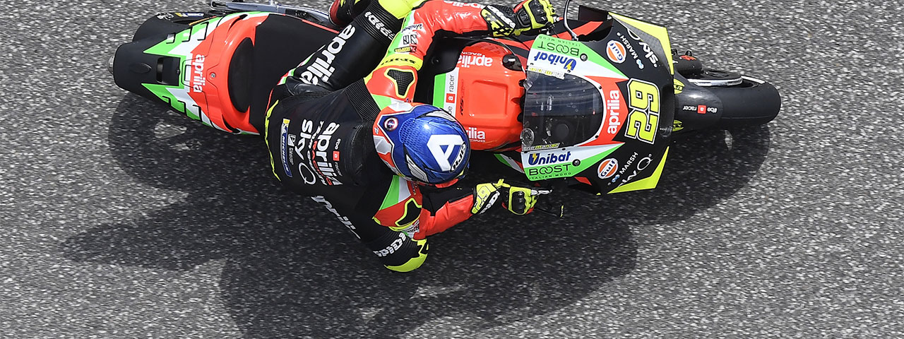MOTOGP IN THE USA. TWO APRILIAS ON THE SIXTH ROW AT THE GP OF THE AMERICAS