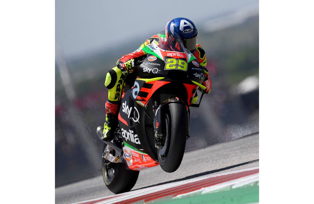 MOTOGP IN THE USA. TWO APRILIAS ON THE SIXTH ROW AT THE GP OF THE AMERICAS_0