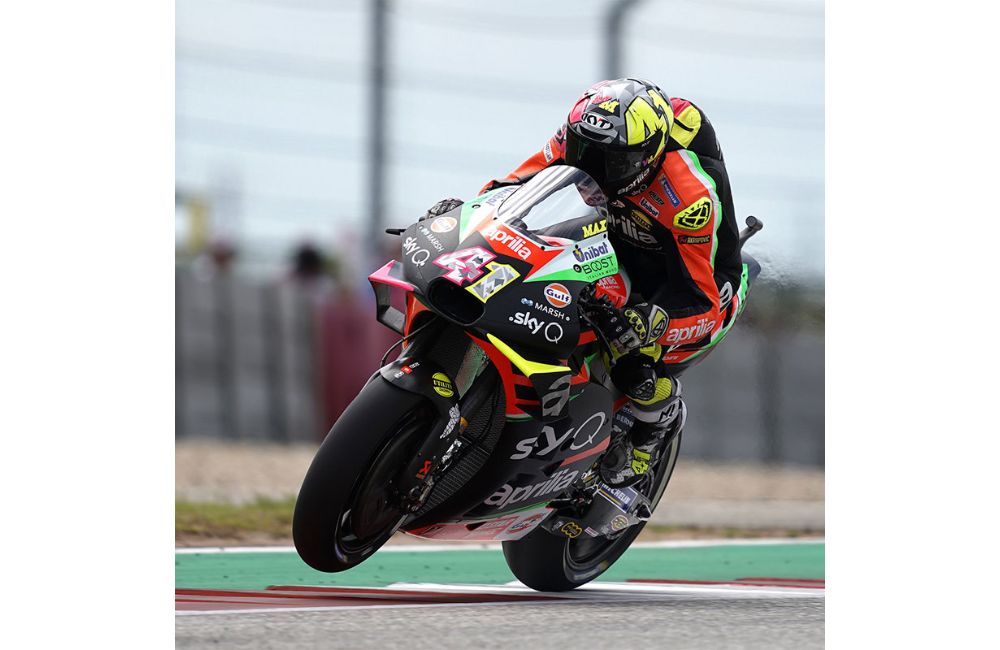MOTOGP IN THE USA. TWO APRILIAS ON THE SIXTH ROW AT THE GP OF THE AMERICAS_1