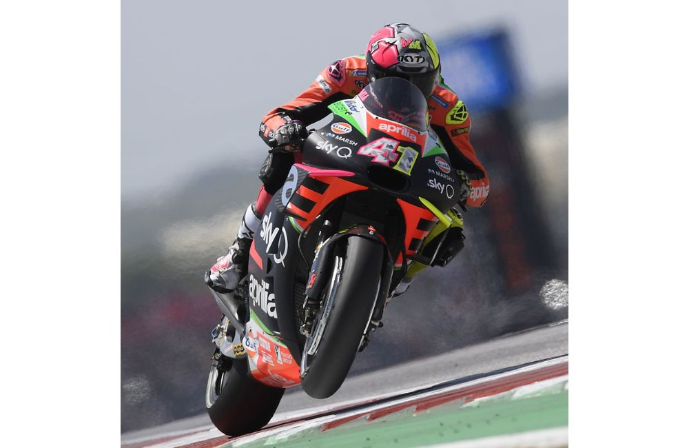 MOTOGP IN THE USA. TWO APRILIAS ON THE SIXTH ROW AT THE GP OF THE AMERICAS_2