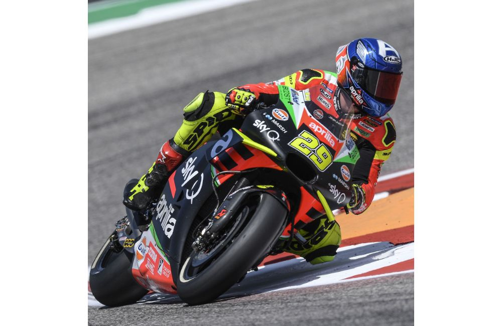 MOTOGP IN THE USA. TWO APRILIAS ON THE SIXTH ROW AT THE GP OF THE AMERICAS_3