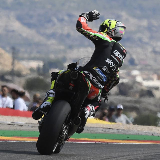 APRILIA OUTSTANDING AT ARAGON QUALIFIERS_thumb
