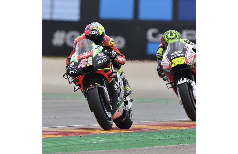OUTSTANDING TEAM EFFORT FOR THE APRILIAS AT ARAGÓN_0