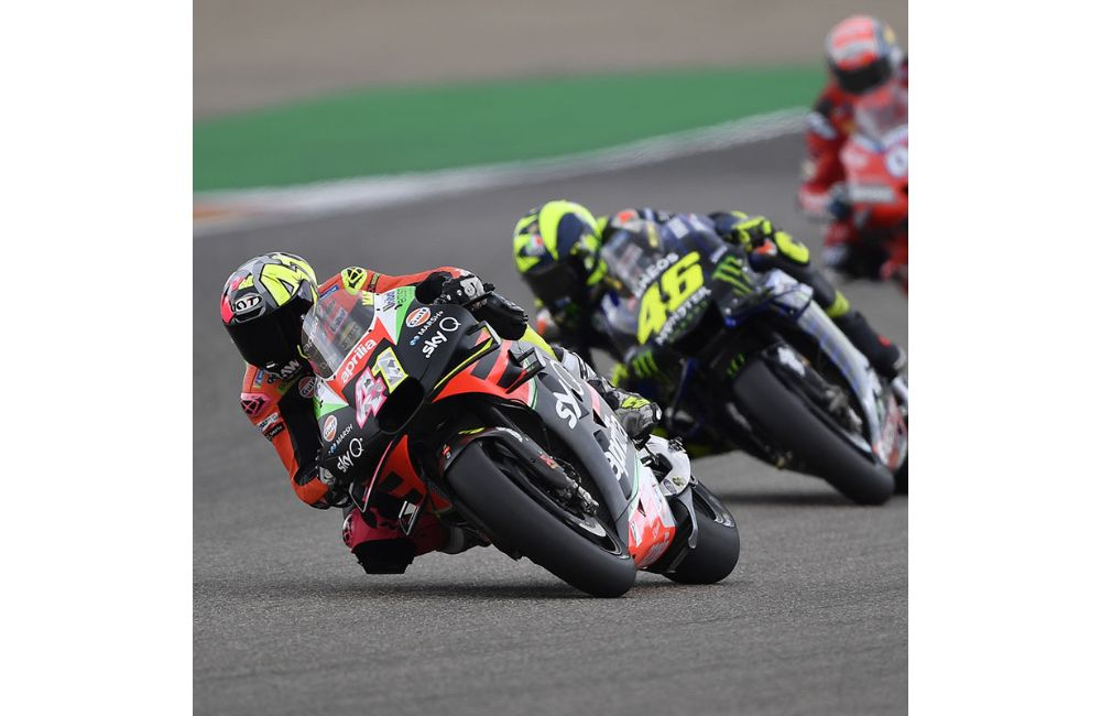 OUTSTANDING TEAM EFFORT FOR THE APRILIAS AT ARAGÓN_2